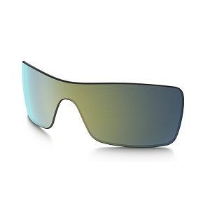 Oakley Batwolf Emerald Iridium Replacement Lens