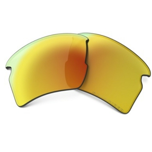 Oakley Flak 2.0 XL Fire Iridium Polarized Replacement Lens