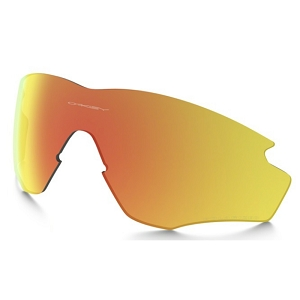 Oakley M2 Frame XL Fire Iridium Polarized Replacement Lens