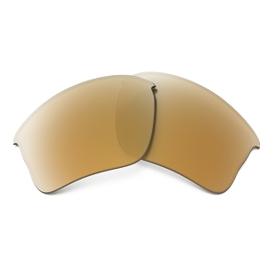 Oakley Flak Jacket XLJ High Intensity Persimmon Iridium Replacement Lens