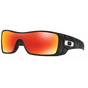 Oakley Batwolf Matte Black Camo / Prizm Ruby Polarized