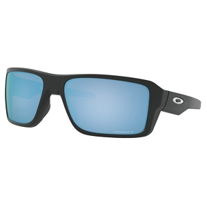 Oakley Double Edge Matte Black / Prizm Deep Water Polarized