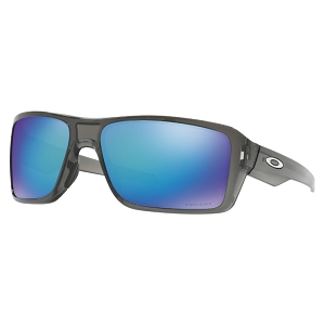 Oakley Double Edge Grey Smoke / Prizm Sapphire Polarized