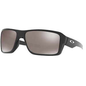 Oakley Double Edge Polished Black / Prizm Black Polarized