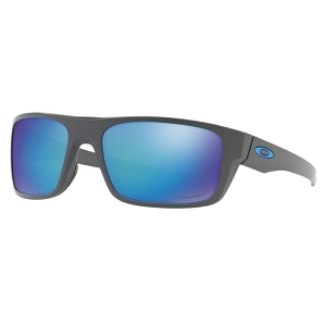 Oakley Drop Point Matte Dark Grey / Prizm Sapphire Polarized