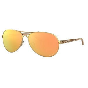 Oakley Feedback Polished Gold / Prizm Rose Gold Polarized