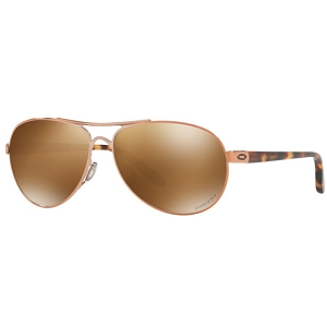 Oakley Feedback Rose Gold / Prizm Tungsten Polarized