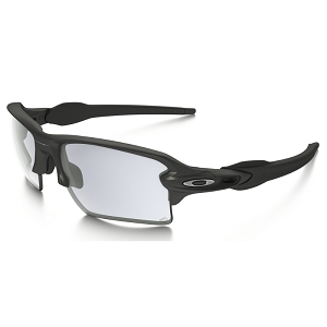 Oakley Flak 2.0 XL Steel / Clear Black Iridium Photochromic