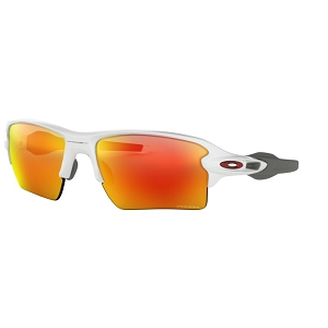 Oakley Flak 2.0 XL Polished White / Prizm Ruby