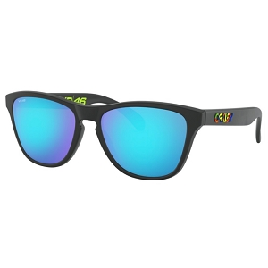 Oakley Frogskins XS (Youth Fit) Valentino Rossi Polished Black / Prizm Sapphire