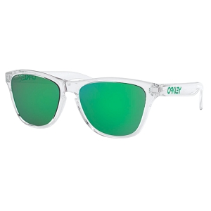 Oakley Frogskins XS (Youth Fit) Polished Clear / Prizm Jade