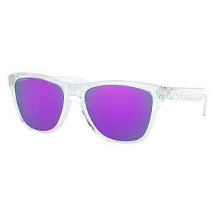 Oakley Frogskins Polished Clear / Prizm Violet