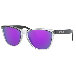 Oakley Frogskins 35th Anniversary Polished Clear / Prizm Violet