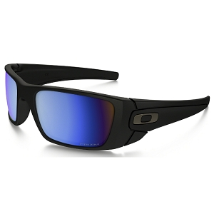 Oakley Fuel Cell Matte Black / Prizm Deep Water Polarized