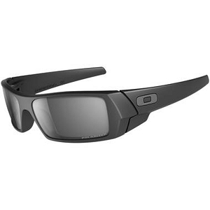 Oakley Gascan Matte Black / Black Iridium Polarized