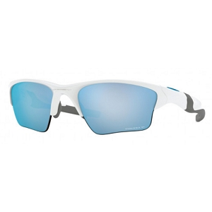 Oakley Half Jacket 2.0 XL Polished White / Prizm Deep Water Polarized