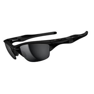 Oakley Half Jacket 2.0 Polished Black / Black Iridium Polarized