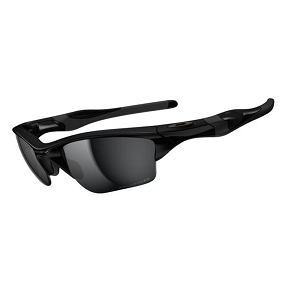 Oakley Half Jacket 2.0 XL Polished Black / Black Iridium Polarized