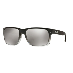 Oakley Holbrook Dark Ink Fade Collection Grey Ink Fade / Chrome Iridium Polarized