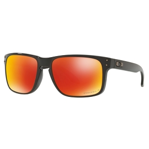 Oakley Holbrook Polished Black / Prizm Ruby Polarized
