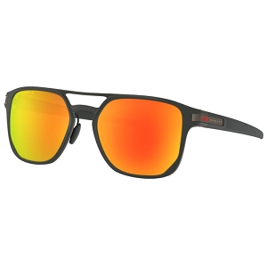 Oakley Latch Alpha Matte Black / Prizm Ruby Polarized