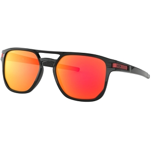 Oakley Latch Beta Polished Black / Prizm Ruby