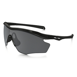 Oakley M2 Frame XL Polished Black / Black Iridium Polarized