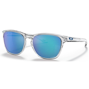 Oakley Manorburn Polished Clear / Prizm Sapphire