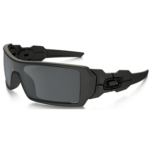 Oakley Oil Rig Matte Black / Black Iridium