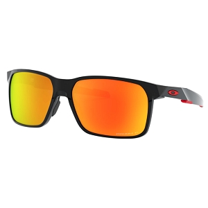 Oakley Portal X Polished Black / Prizm Ruby Polarized