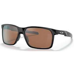 Oakley Portal X Polished Black / Prizm Tungsten Polarized
