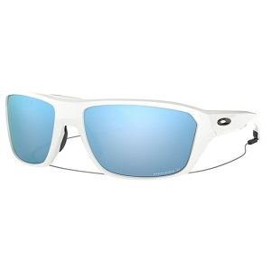 Oakley Split Shot Polished White / Prizm Deep Water Polarized