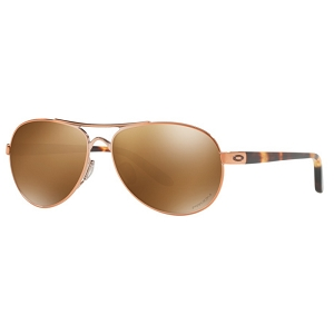 Oakley Tie Breaker Rose Gold / Prizm Tungsten Polarized