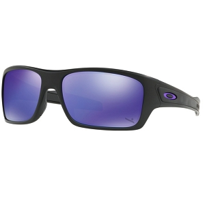 Oakley Standard Issue Turbine Infinite Hero Collection Matte Black / Violet Iridium