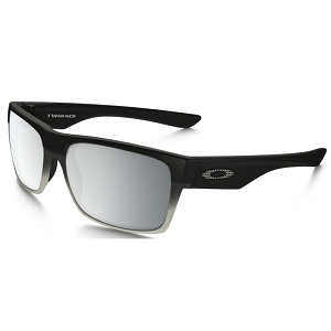 Oakley Twoface Machinist Matte Black / Chrome Iridium