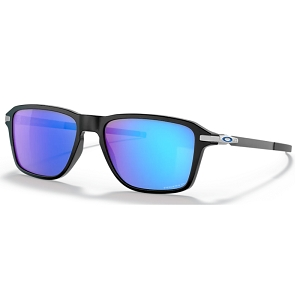 Oakley Wheel House Polished Black / Prizm Sapphire Polarized