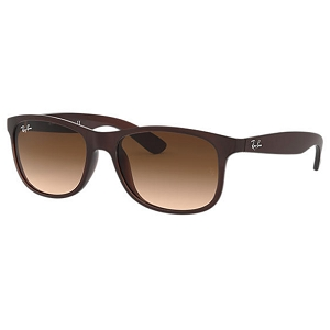 Ray Ban Andy Matte Brown / Brown Gradient