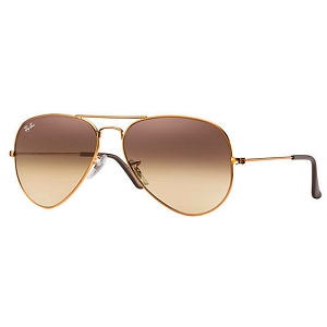 Ray Ban Aviator Bronze-Copper / Pink-Brown Gradient