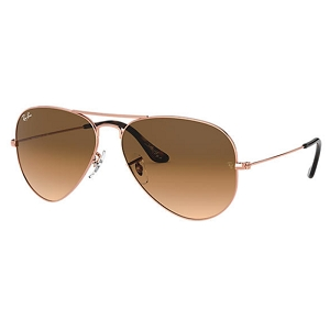 Ray Ban Aviator Bronze-Copper / Light Brown Gradient