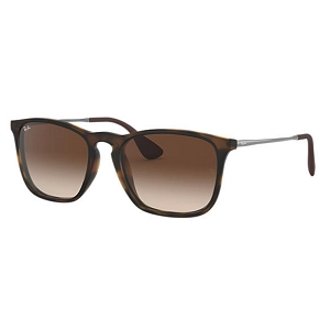 Ray Ban Chris Rubber Tortoise / Brown Gradient