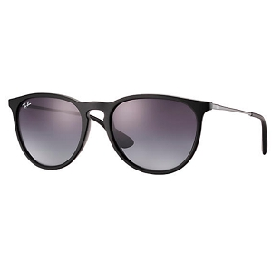 Ray Ban Erika Rubber Black / Grey Gradient