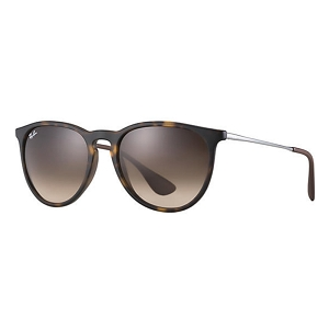 Ray Ban Erika Rubber Tortoise / Brown Gradient