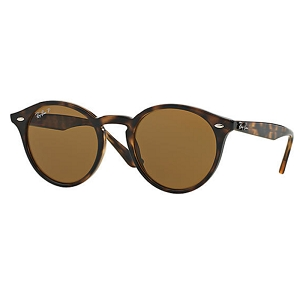 Ray Ban RB2180 Gloss Tortoise / Polarized Classic Brown