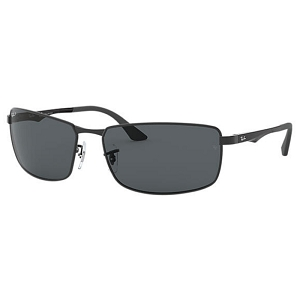 Ray Ban RB3498 Matte Black / Polarized Grey Gradient
