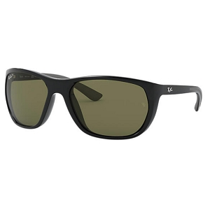 Ray Ban RB4307 Black / Classic Green Polarized