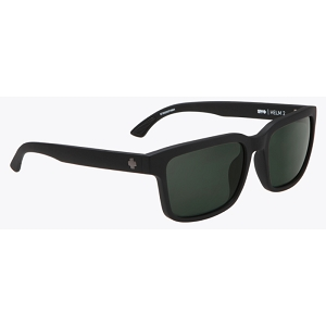 Spy Helm 2 Matte Black / Happy Grey Green Polarized