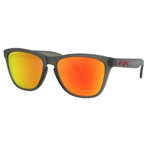 Oakley Frogskins Matte Grey Smoke / Prizm Ruby Polarized