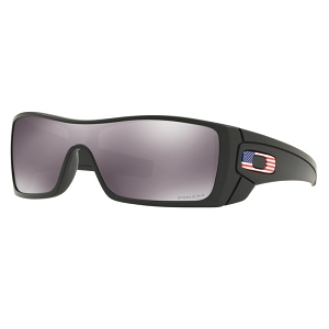 Oakley Standard Issue Batwolf Matte Black with USA Flag / Prizm Black