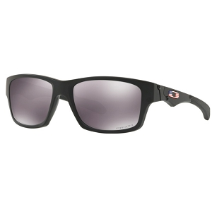 Oakley Standard Issue Jupiter Squared Matte Black with USA Flag / Prizm Black