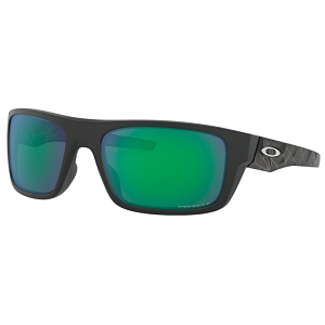 Oakley Drop Point Matte Black Prizmatic / Prizm Jade Polarized